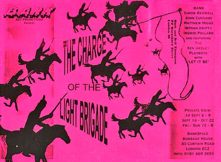 BANK- Charge of Light Brigade