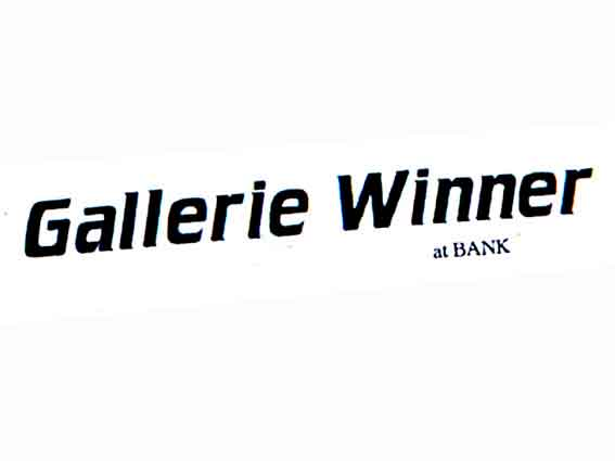 BANK- Gallerie Winner