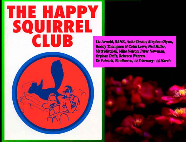 BANK- Happy Squirrel Club