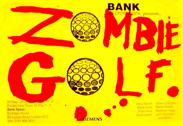 BANK- Zombie Golf
